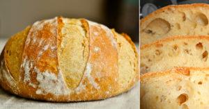 Домашний хлеб. Такой вкусный и с хрустящей корочкой!