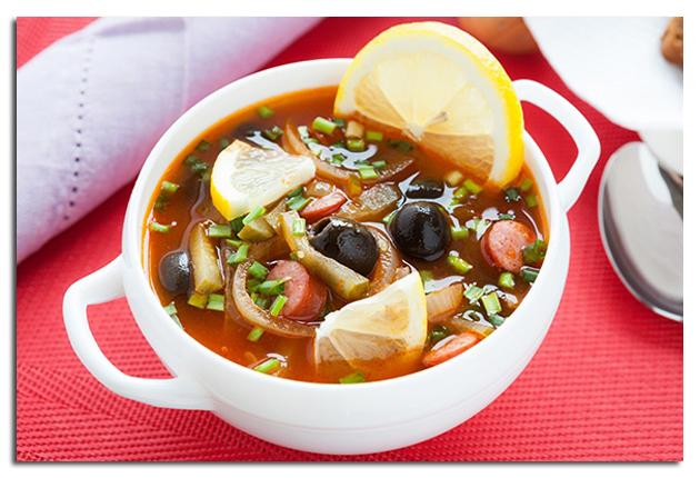 5 рецептов вкусной солянки