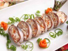 Фаршированная сельдь — супер закуска для вашего стола!