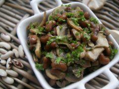 Легкий салат с фасолью «Вечерний»