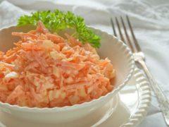 Два ленивых витаминных салата на скорую руку