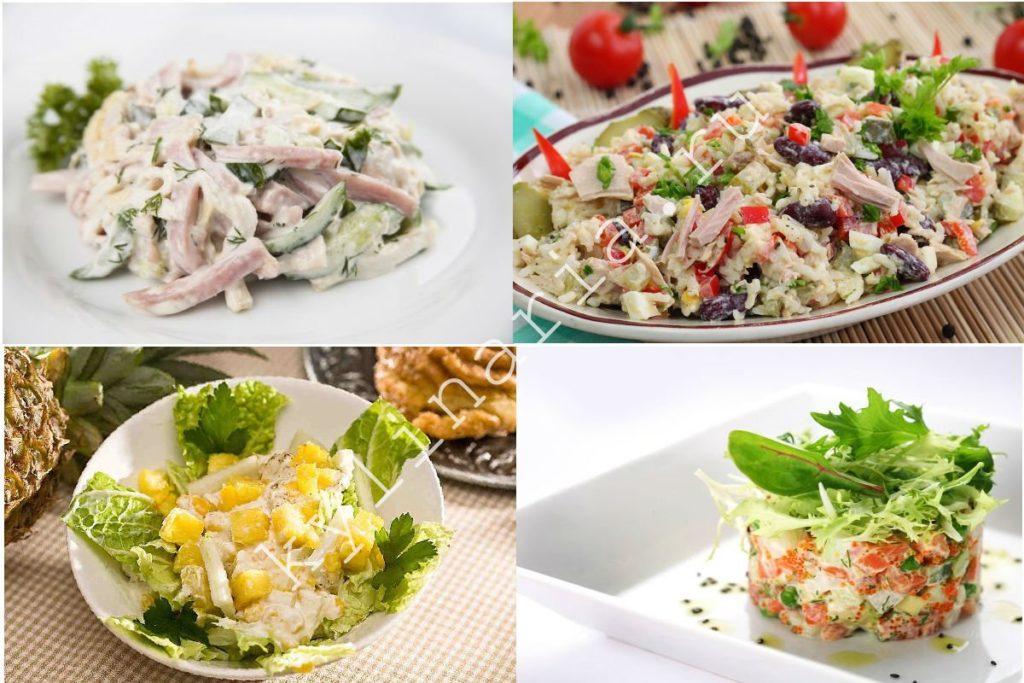 Вкусный и нежный салат «Буржуй»