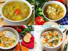 Легкий куриный суп с яйцами и помидорами: почти диетический рецепт
