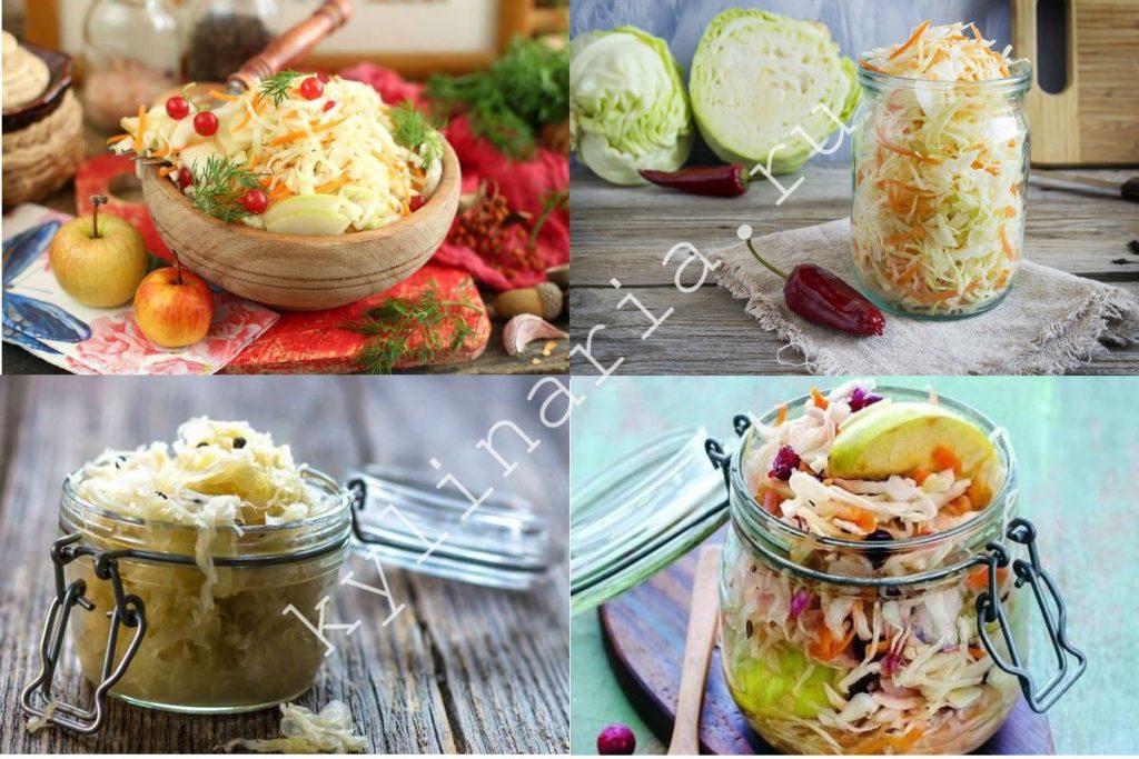 Маринованная с яблоками капуста — как из бочки