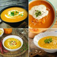 Очень нежный суп-пюре из тыквы