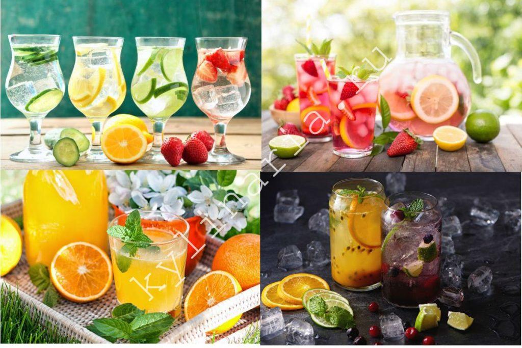 Освежающий домашний лимонад: четыре потрясающих напитка в одном месте