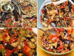 Простой салат из баклажанов: но при этом очень вкусный и аппетитный