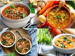 Шикарный королевский суп, родом из Италии