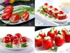 ТОП-6 лучших закусок из помидор
