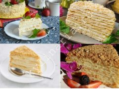 Торт «Нежный Наполеон»