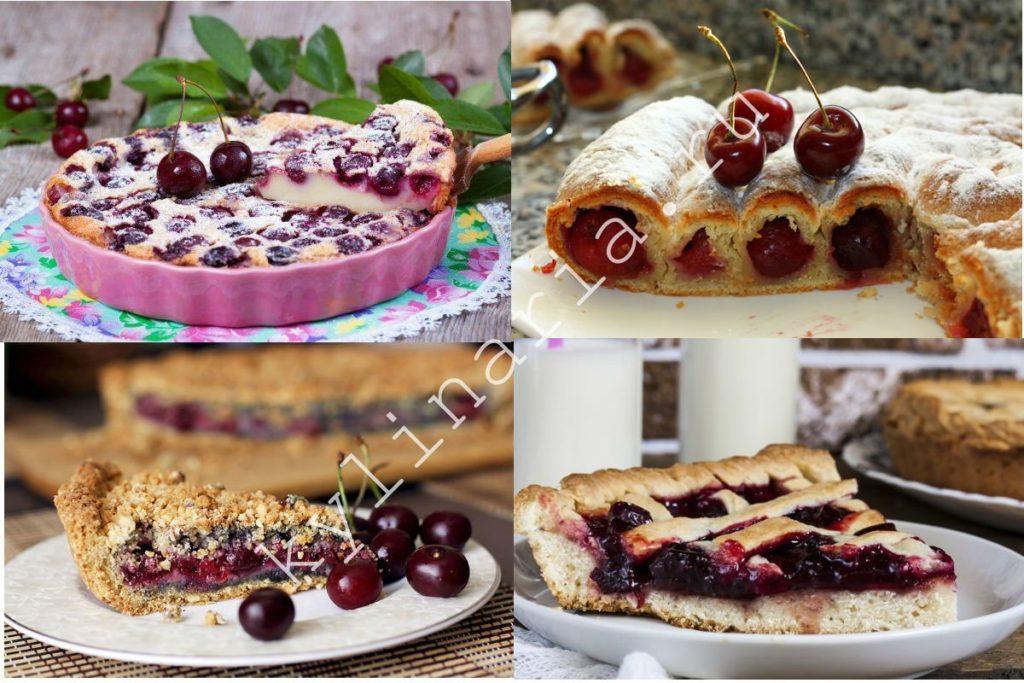 Готовим пирог с вишней