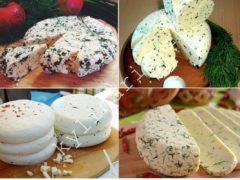 Вкусный домашний твердый сыр по очень простому рецепту