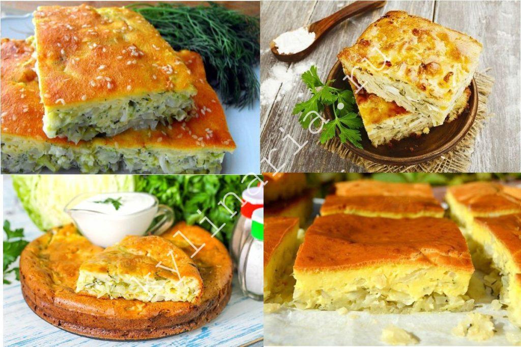 Быстрый и простой капустный пирог