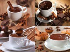 Горячий шоколад. Вкусно и очень уютно!
