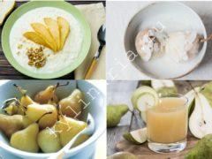Груши в кокосовом молоке