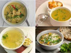 Куриный суп с рисом, имбирем и лаймом