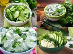 Салат из огурцов: еще один рецепт вам в копилку