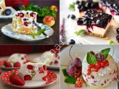 Волшебный десерт без выпечки