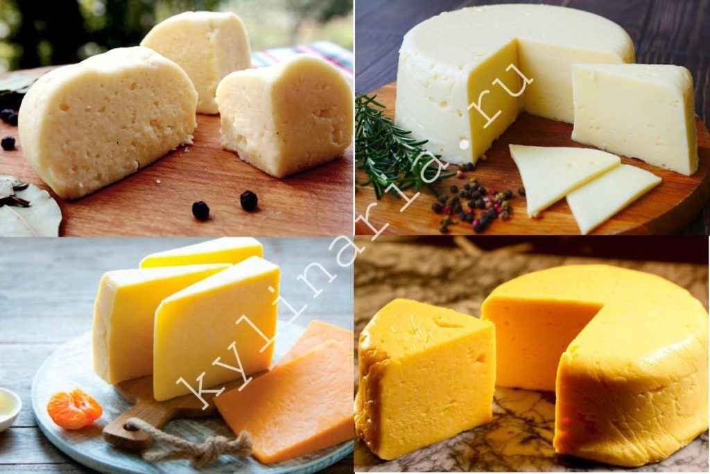 Домашний твердый сыр по очень простому рецепту