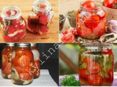 Необычная овощная заготовка — помидоры в желе