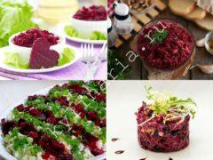 Вкуснейшие салаты и закуски со свеклой