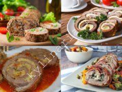 Вкуснейший мясной рулет с начинкой: хит даже праздничного меню
