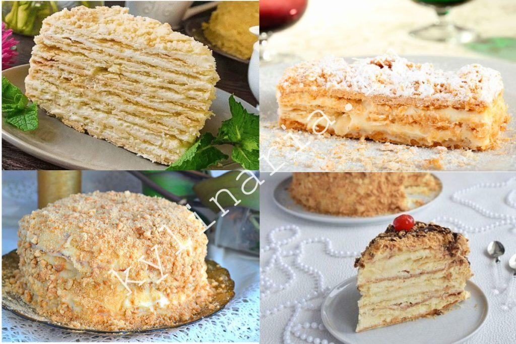 «Мокрый» торт «Наполеон» с пломбиром вкусного десерта много не бывает