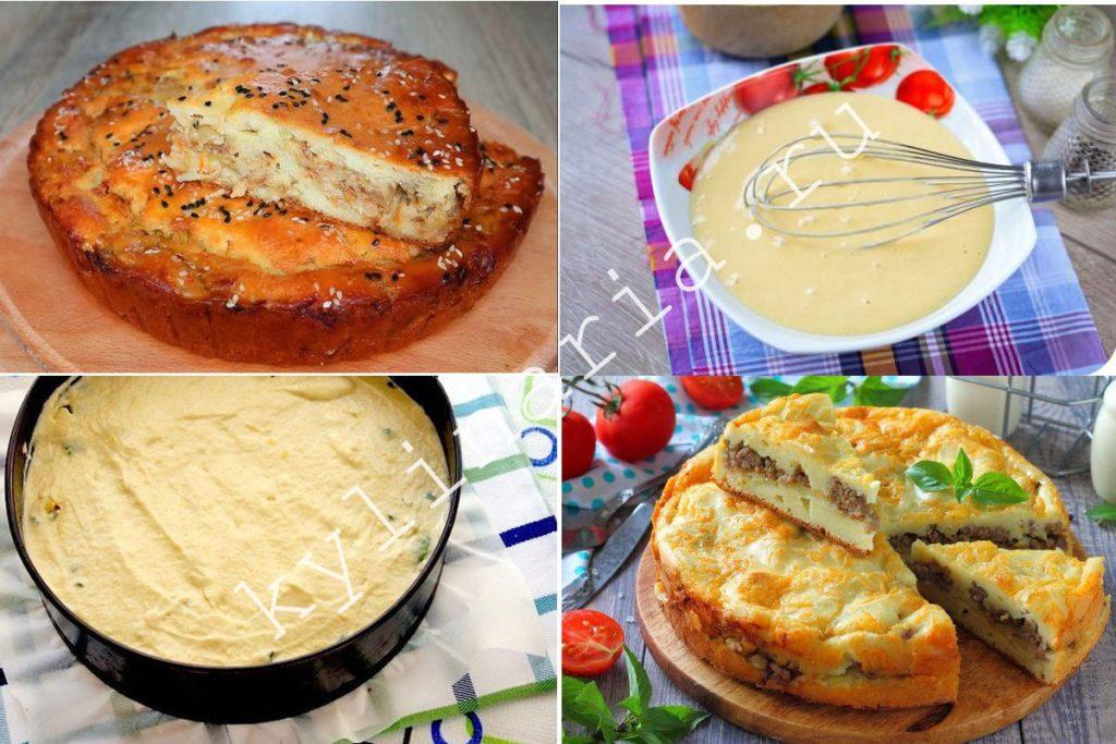 Тесто для заливных пирогов универсальный рецепт для любой начинки!