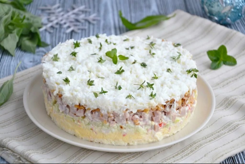 Салат «Снежный краб»
