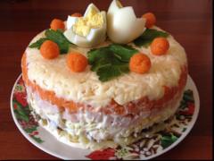Королевский салат — Что приготовить на Новый год