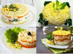 Легкий салат «Мимоза»