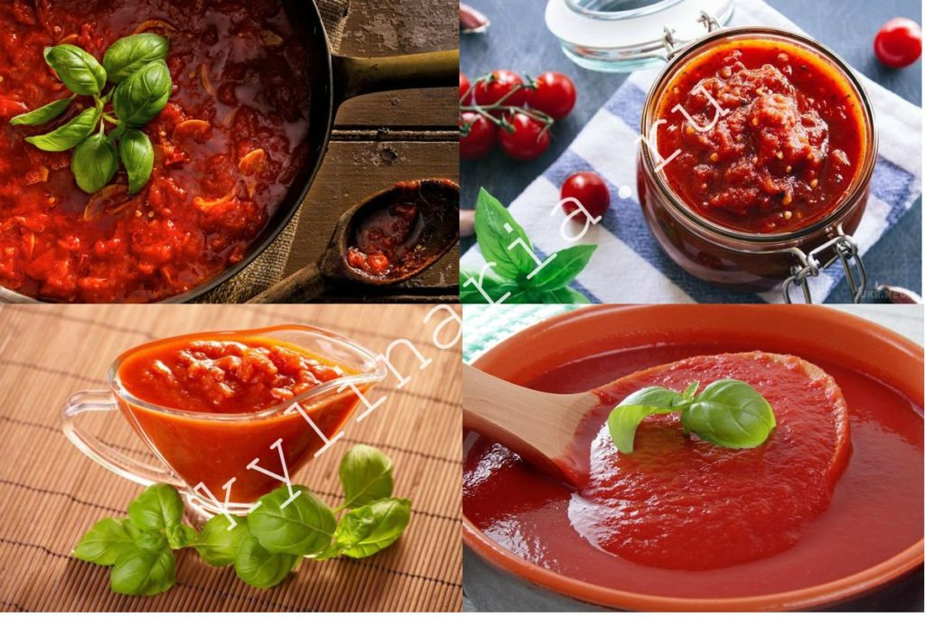 Томатный соус - классика Итальянской кухни