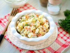 Оригинальный салат «Киевский» — вкуснее Оливье!
