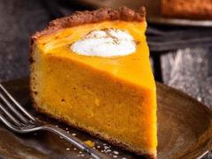 Тыквенно-апельсиновый торт: очень вкусный и легкий в приготовлении!