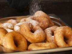 Вкусные пончики из 4-х ингредиентов по бабушкиному рецепту.