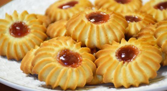 Любимое песочное печенье «Ромашка»