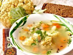 Самый нежный суп из цветной капусты