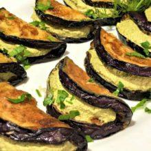 Баклажаны дольками с ореховой пастой по-грузински: чудесный рецепт для застолья