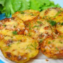 Чесночная картошка в духовке — незабываемо вкусно