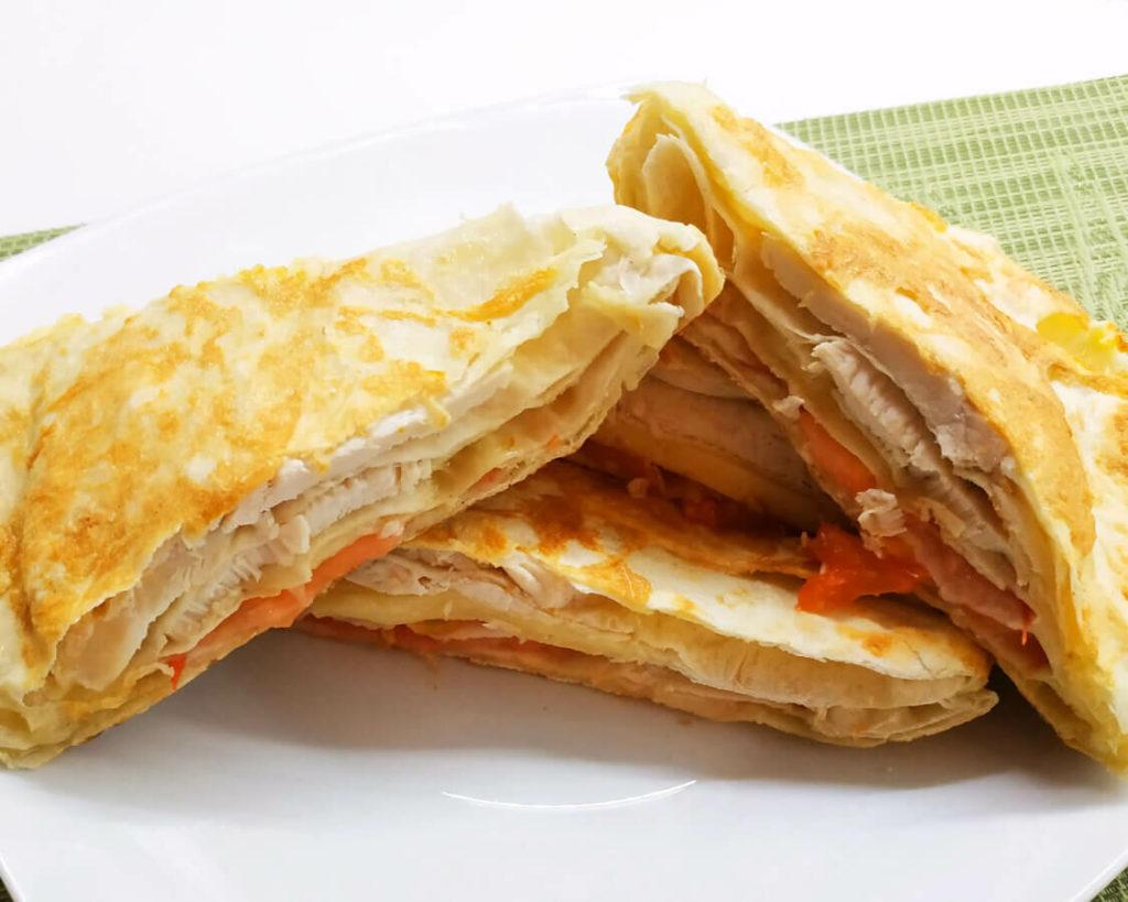 Быстрые пирожки из тонкого лаваша - объедение